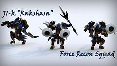 """J1-k(r) """"Rakshasa"""" Force Recon Squad"""