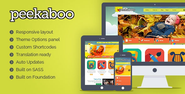 Pekaboo v2.11.1 Children Theme Template