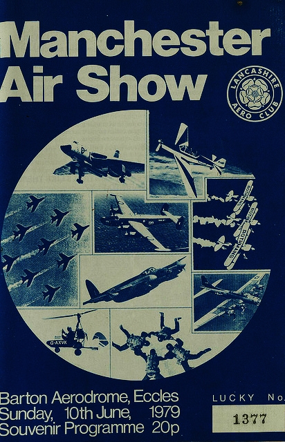 Barton Aerodrome, Air Show Flyer 1979
