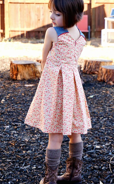 Raglan Party Dress