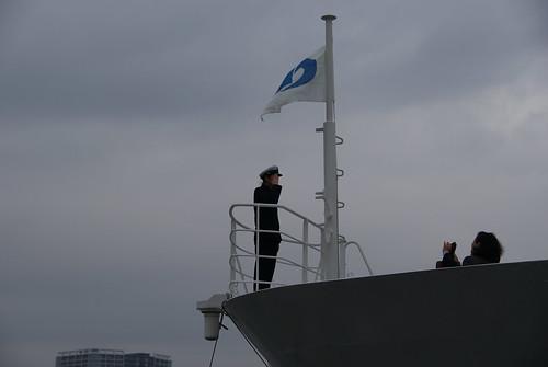 Bon Voyage!    南極観測船随伴船「海鷹丸」 出航式 - naniyuutorimannen - 您说什么!