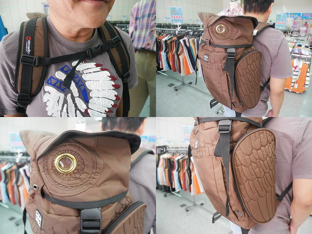 貓頭鷹包包1