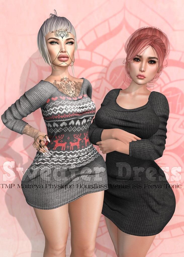 EmilyC Sweater Dress
