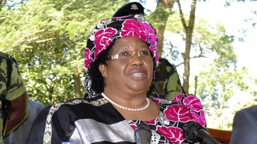 Joyce Banda is the President of the Southern African nation of Malawi. She took office after the death of Bingu wa Muthirika on Friday, April 6, 2012. by Pan-African News Wire File Photos