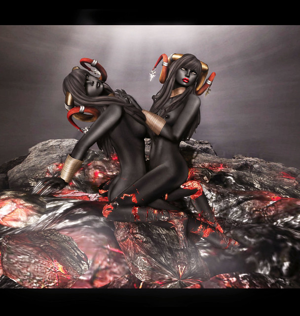 -Glam Affair- & ~Tableau Vivant~ - Demoness of Lava