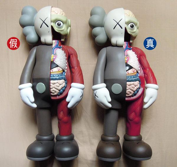 About Those Kaws Bootleg Toys Comparison Images Between Original