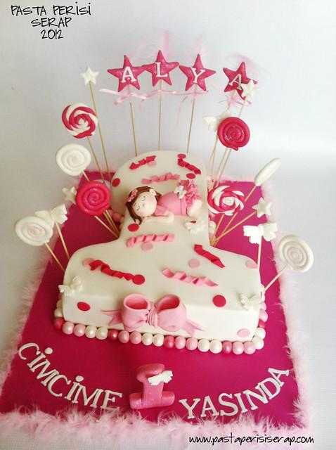 1 yaş pastası- ALYA