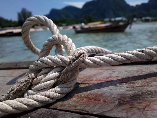 Noeud et bateau