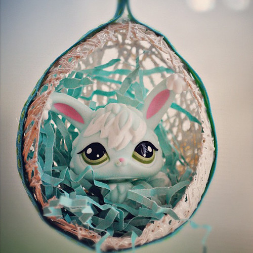 Homemade Easter ornaments