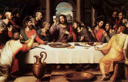 Jesús en la Última Cena