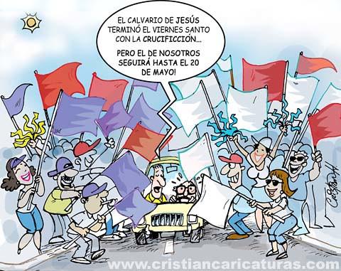 Caricatura CALVARIO