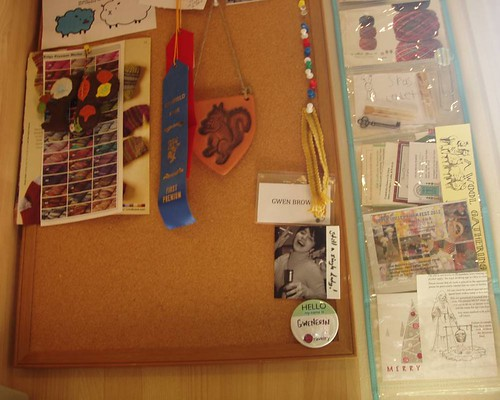 snapshots: cork board