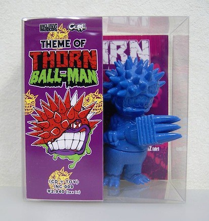 cd & mini thorn ball-man