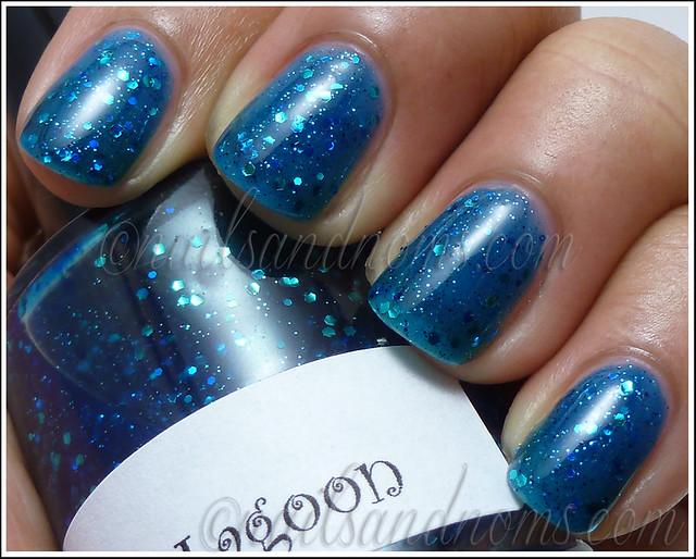 Aphrodite Lacquers Blue Lagoon