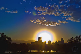 Sunset, Denver-Style