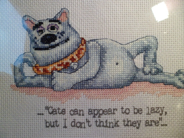 Creature Comforts Cross stitch