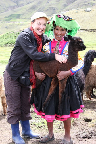 Betty Londergan in Peru