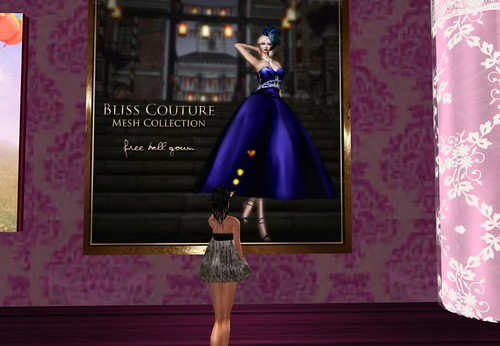 Bliss Couture Free Mesh Ballgown (Members Only) by Cherokeeh Asteria
