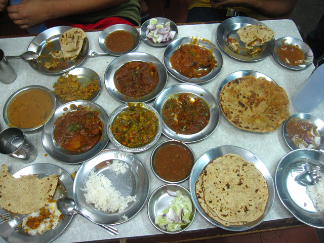 Street Indian food in Bangkok