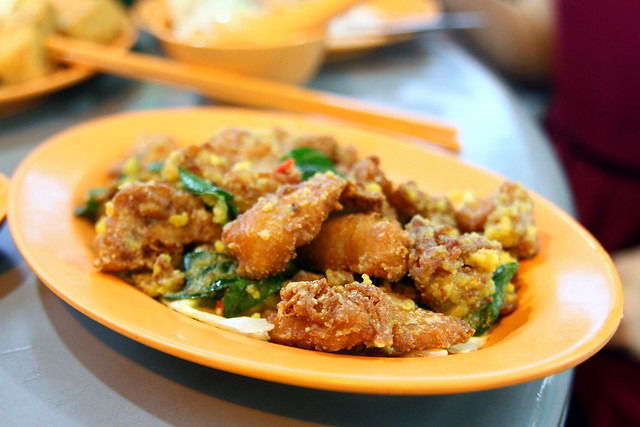 Tian Wai Tian Fish Head Steamboat: Salted Egg Pork Ribs