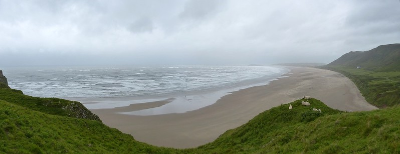 27419 - Stormy Rhossili, Gower