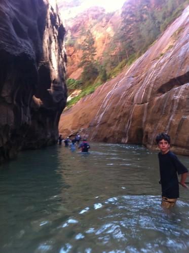 Deep water!