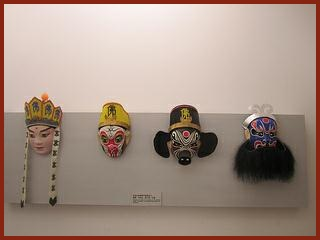 Masks for the famous play Journey to the West