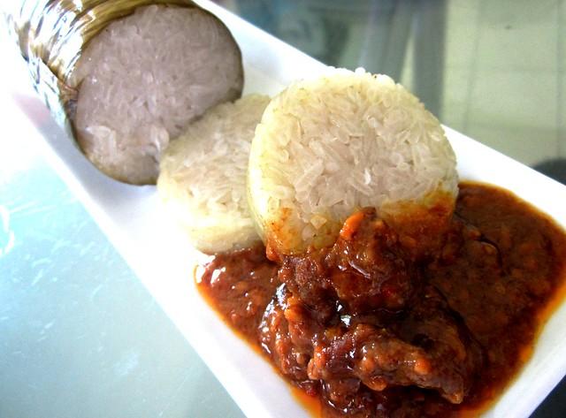 Lemang & satay beef
