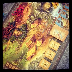 Back inside and #stoneage #boardgame time