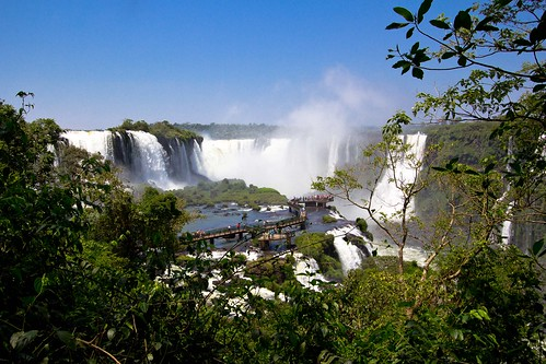 Camino de las Cataratas en el Parque Nacional do Iguaçu