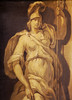 Trompe l'oeil statue of Athena, Kings Weston by archidave