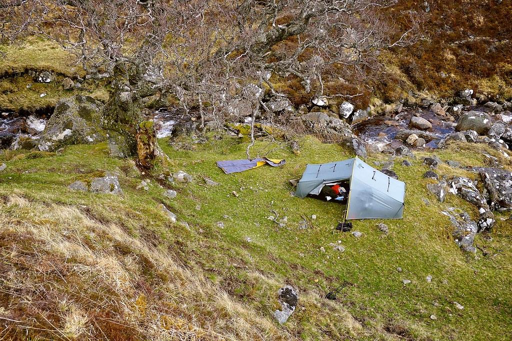 Aerial Campsite