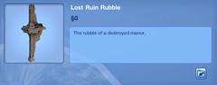 Lost Ruin Ruble