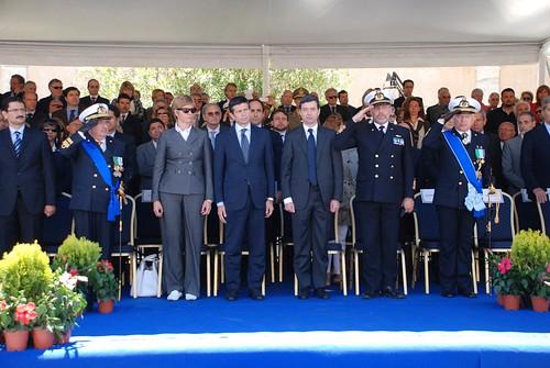 Ministro Maurizio Lupi a Civitavecchia per il passaggio di consegne del Comandante Generale delle Capitanerie di Porto – Guardia Costiera (7)