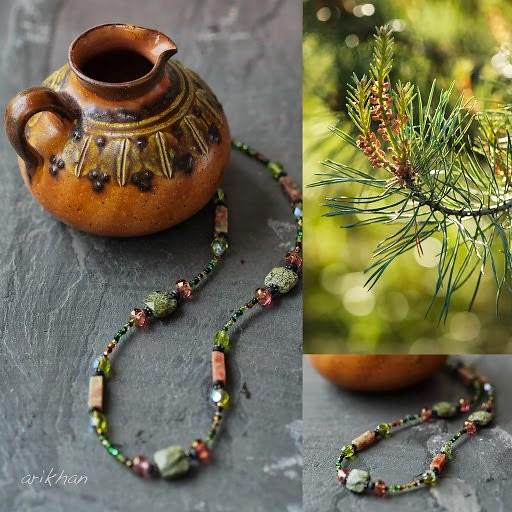 dragon jasper necklace