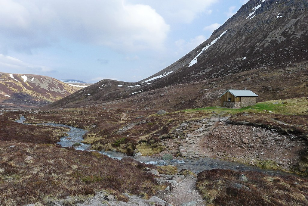 Hutchinson Hut in Glen Derry