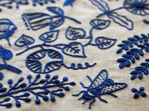 Vitamini handmade modern embroidery