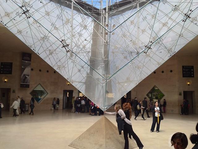 Carrousel Du Louvre, vor dem Apple Store