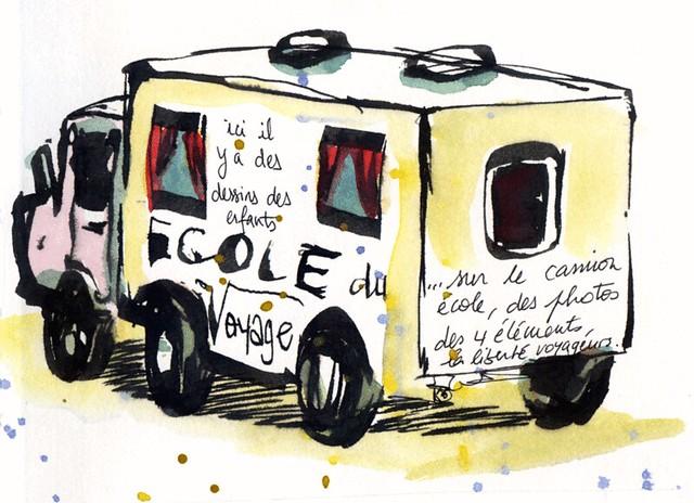Camion-ecole