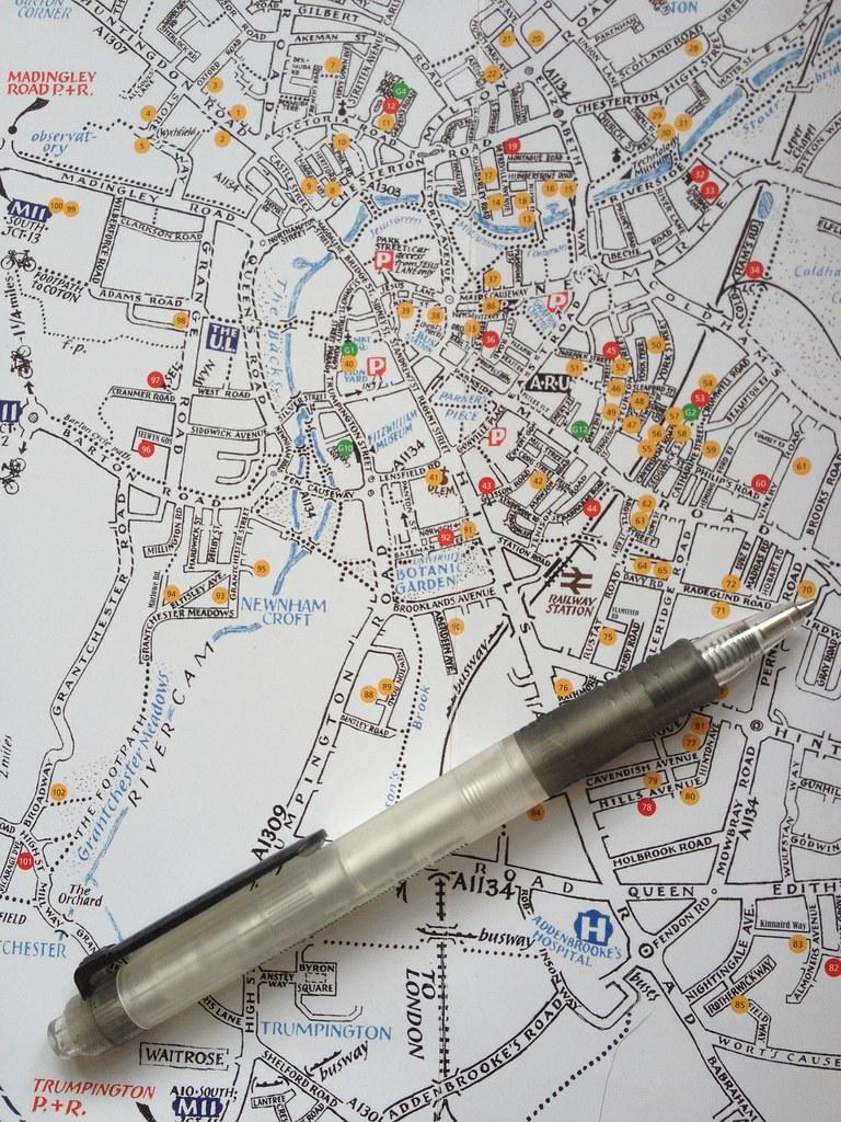 Open studios 2013 map