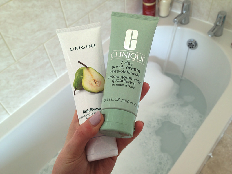 Origins Rich Rewards Clinique 7 Day Scrub Hero 2 | www.latenightnonsense.com
