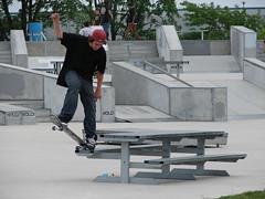Central Park Skate Plaza