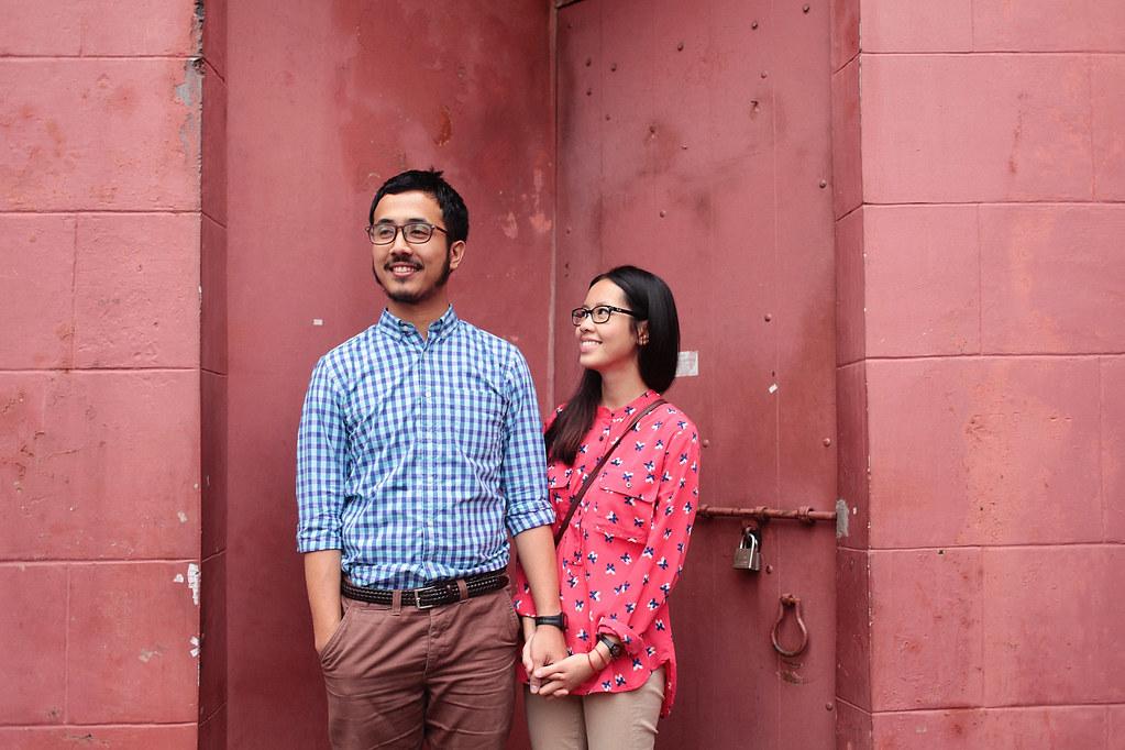 Zahirah + irman-018