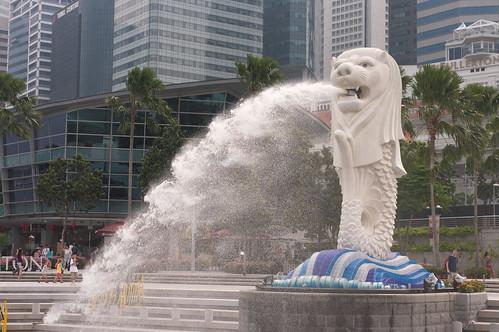 【写真】シンガポール・市街地
