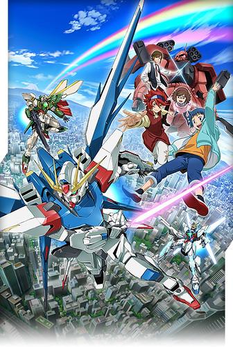 130702(3) – 新動畫《ガンダムビルドファイターズ》(GUNDAM BUILD FIGHTERS)於10月開播、「富野由悠季」鋼彈新作可望2014年後公開! 2