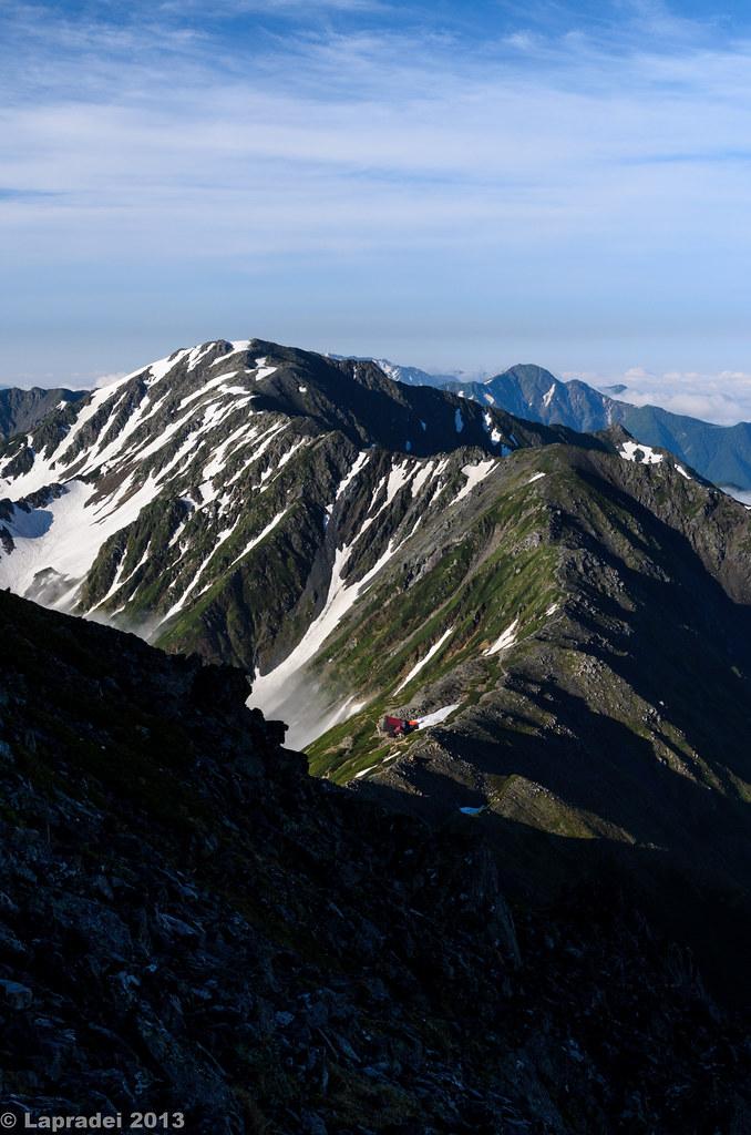20130630 間ノ岳への稜線