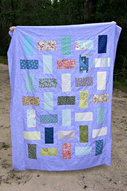 Flower Quilt Top