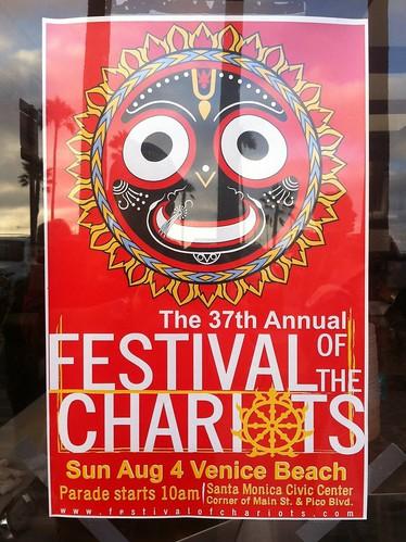 Festival of the Chariots Venice Beach 2013
