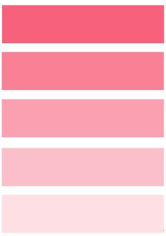 ricette rosa corallo graduale