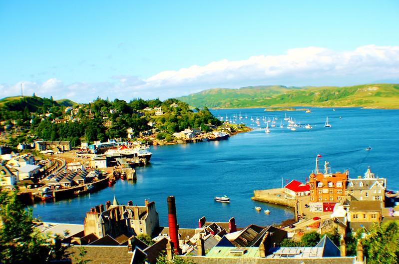 Oban Harbour, Scotland